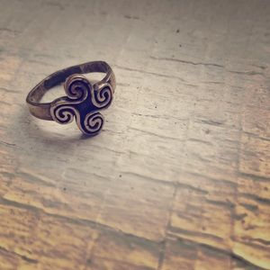Celtic pinky ring